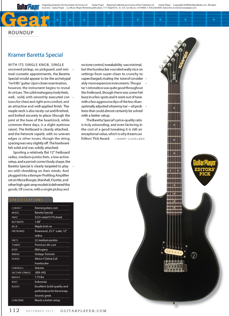 Check out more info on the baretta special here