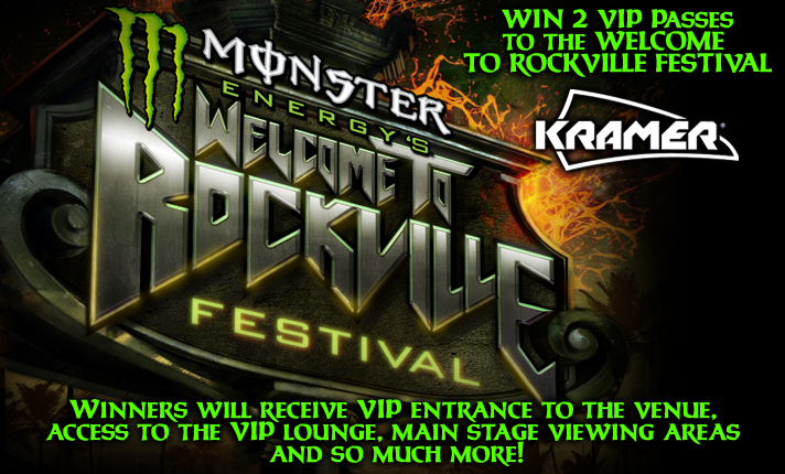 Win 2 VIP Passes to the Welcome to Rockville Festival