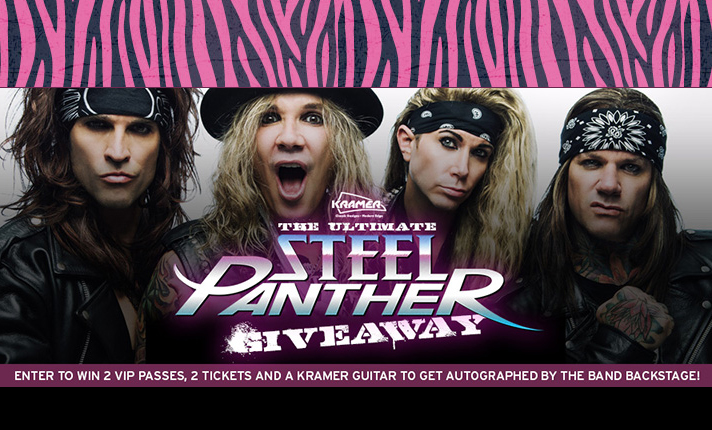 New Giveaway from Kramer and Steel Panther!