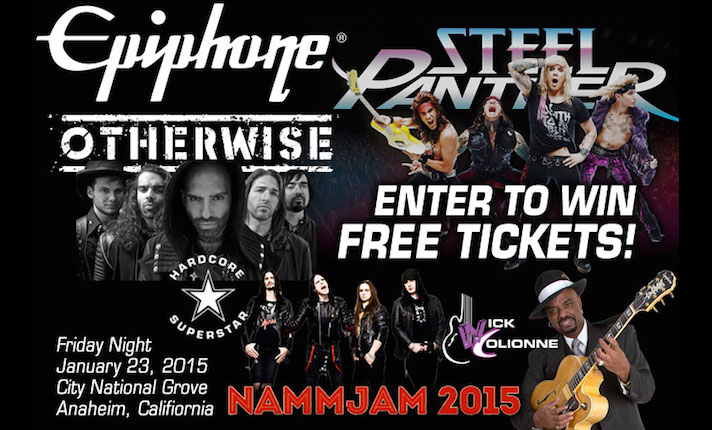 2015 NAMMJAM: Enter To Win Free Tickets!